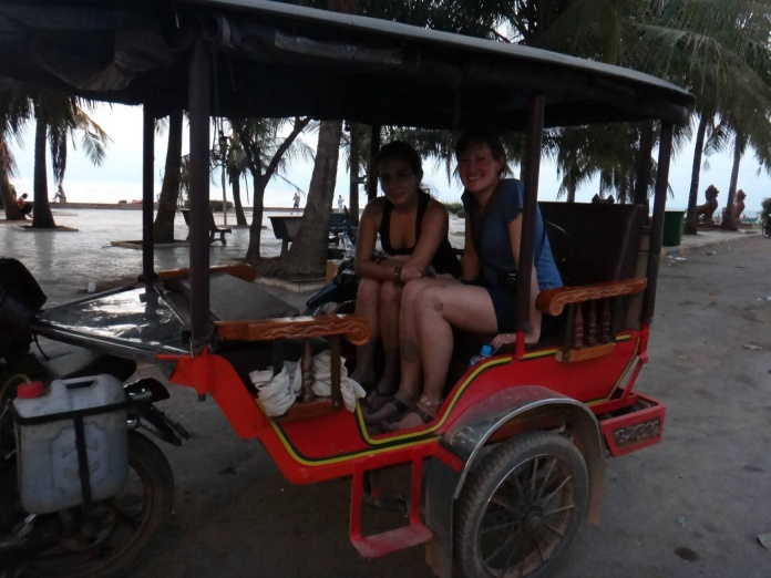 Our Private Tuk Tuk in Kampot, Cambodia