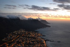 Looking over Camp's Bay and the 12 Apostles